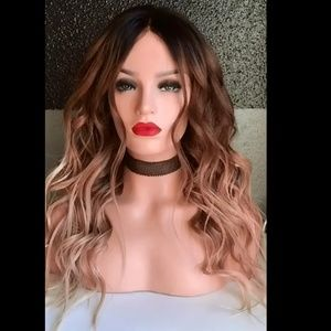 Accessories - Long wavy wave hair highlights wig